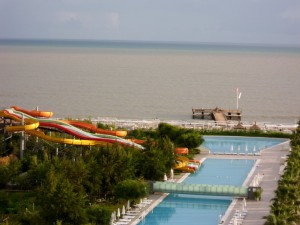 هتل 5 ستاره کروانسرای Kervansaray Kunda Hotel