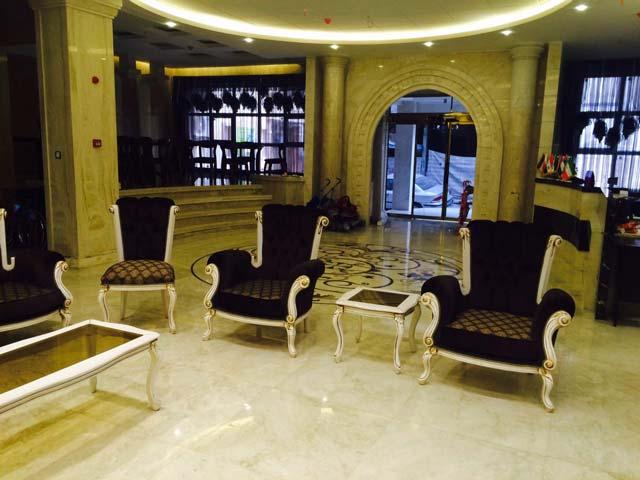 لابی هتل پارادایس مشهد